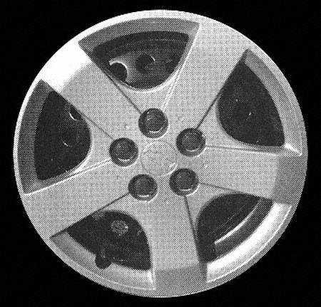"UPC 723651330523, 03-04 CHEVY CHEVROLET CAVALIER WHEEL COVER HUBCAP HUB CAP 14 INCH, 5 SPOKE BRIGHT SILVER 14"" inch (center not included) (2003 03 2004 04) C261214 FWC03237U20"