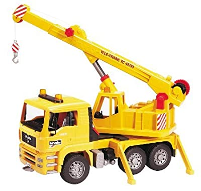 Bruder MAN TGA Crane Truck Vehicle