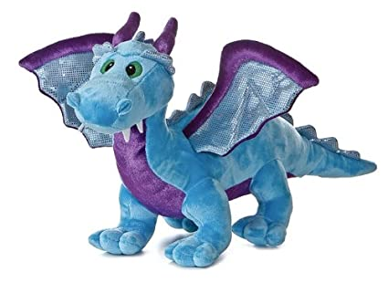 Amazon Com Aurora World Blue Dragon With Sound 14 Toys Games