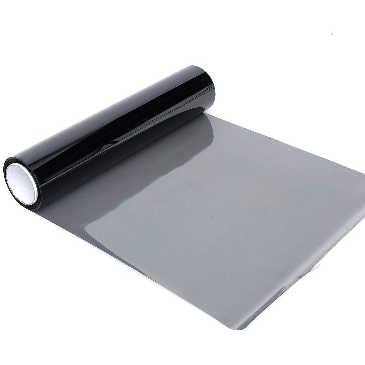 Stock_Home, Raw Materials, 50cmx60m 50% VLT Black Car Home Glass Window Tint Tinting Film Vinyl Roll Home