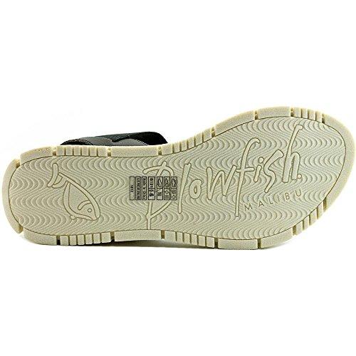Sandalo Piatto Britannico Donna Blowfish Nero