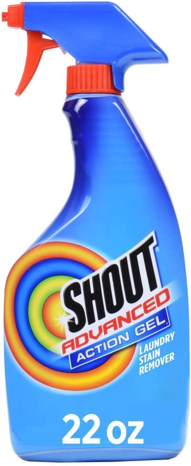 Shout Spray and Wash Advanced Action Stain Remover for Clothes, 22 oz: Health & Personal Care