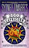 Capricorn 2003, Sydney Omarr, 0451206258