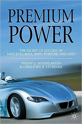 Premium Power: The Secret of Success of Mercedes-Benz, BMW, Porsche and Audi