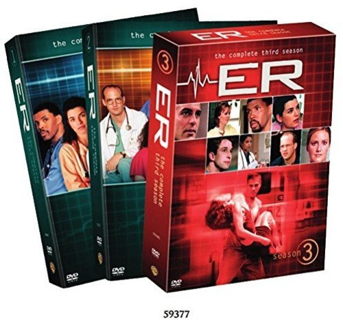 ER: The Complete Seasons 123 (3-Pack), used for sale  Delivered anywhere in USA