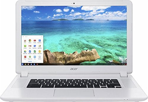 Acer Newest Flagship 15.6 inch Full HD Laptop Chromebook PC, Intel Celeron 3205U Dual-Core, 4GB RAM, 16GB SSD, SD Card Reader, USB 3.0, 802.11ac, HDMI, Chrome OS