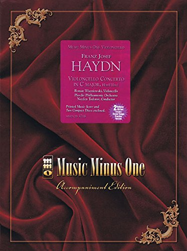 Music Minus One 'Cello: Haydn 'Cello Concerto in C major, HobVIIb:1 (Sheet Music & 2 CDs) pdf