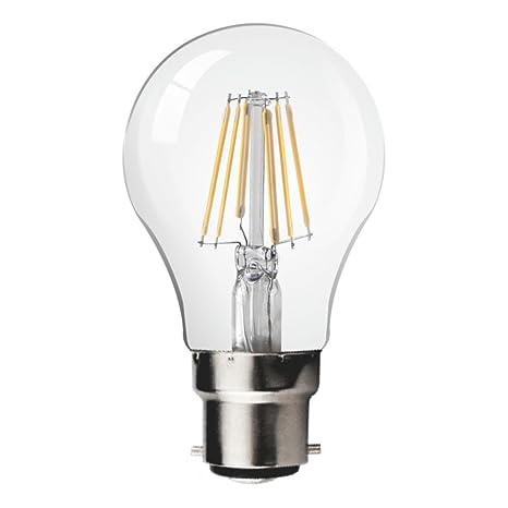 Energizer - Bombilla LED de bajo consumo GLS B22, plástico, luz diurna, 11