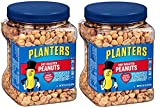 Planters Dry Roasted Peanuts, 34.5 Ounce Container, 6 Tubs