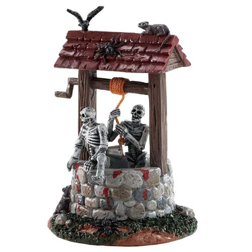 (Lemax Spooky Town Ghouls in Well Table Piece)
