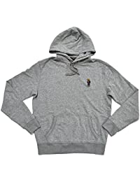Polo Ralph Lauren Men\u0026#39;s Pullover Fleece Bear Logo Hoodie