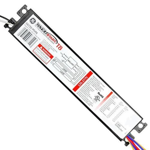 Philips ambistar 40 watt 2 lamp t12 rapid start high frequency ge 29675 2 lamp fluorescent ballast f32t8 120277 volt sciox Images