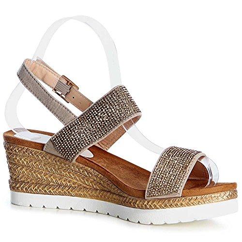 Sandales Topschuhe24 Or Femmes Sandales Topschuhe24 Or Sandales Femmes Sandalettes Femmes Sandalettes Sandalettes Topschuhe24 Femmes Topschuhe24 Or XIqdI