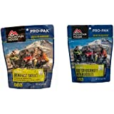 Mountain House Breakfast Skillet Pro-Pak and Mountain House Beef Stroganoff with Noodles Pro-Pak Bundle