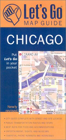 Let's Go Map Guide Chicago (3rd Ed.) (Let's Go: Pocket City Guide - Downtown Hotel Inn