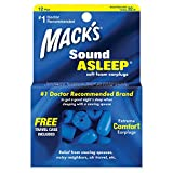 Mack's Sound Asleep Soft Foam Earplugs, 12 Pair