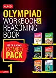 Class 1: Work Book & Reasoning Book Combo for NSO-IMO-IEO-NCO-IGKO (2018-19)