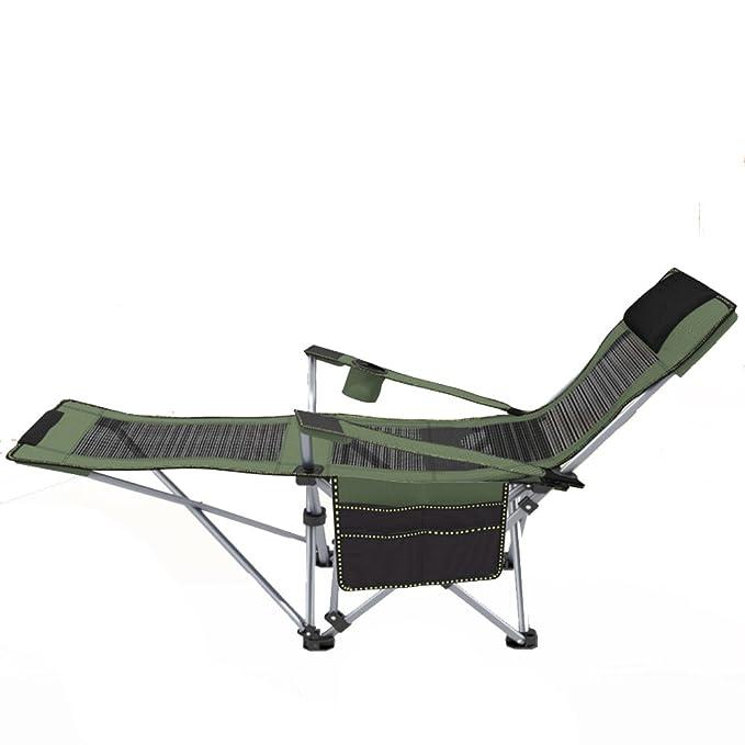 L&J Silla portátil Pesca, Sillones reclinables de Playa ...