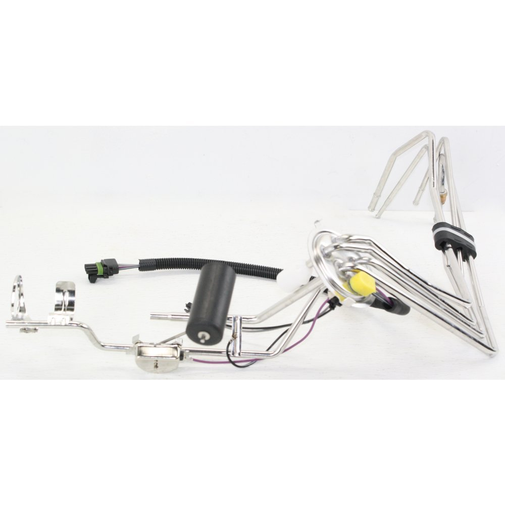 Fuel Sending Unit compatible with Chevrolet Camaro 85-92 3 Wires 4 Outlets W//Fuel Sender Float and Strainer W//Lock Ring