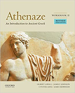 Book Athenaze: An Introduction to Ancient Greek, Workbook II