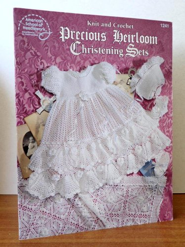 Precious Heirloom Christening Sets : Knit and ()