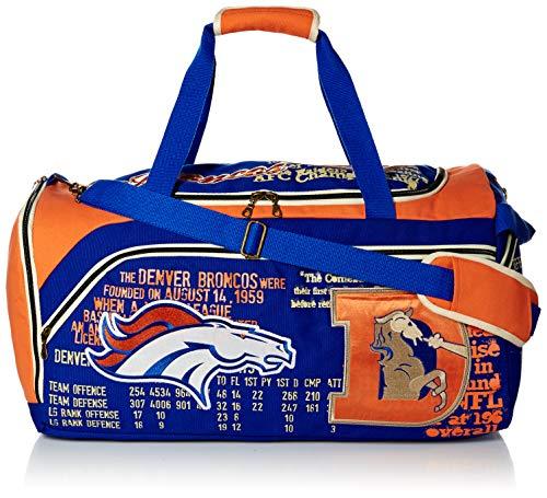 Forever Collectibles NFL Denver Broncos Duffle - Version 2, Blue