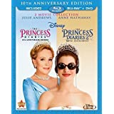 The Princess Diaries: Two-Movie Collection (Three-Disc Combo Blu-ray/DVD Combo in Blu-ray Packaging) by Walt Disney Studios Home Entertainment by Garry Marshall