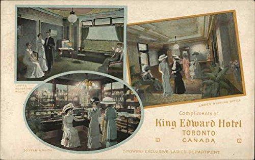King Edward Hotel Toronto, Ontario Canada Original Vintage Postcard