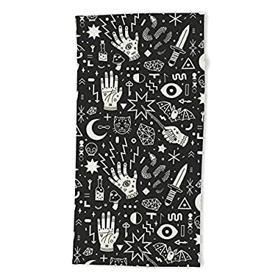 "Society6 Witchcraft Beach Towel 74""x37"""
