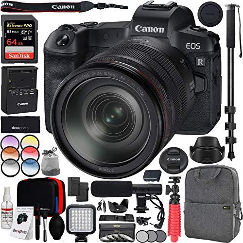 Canon EOS R Full-Frame Mirrorless Digital Camera with RF 24-