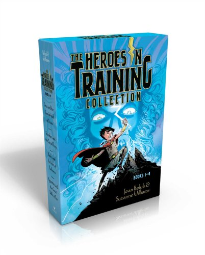 The Heroes in Training Collection Books 1-4: Zeus and the Thunderbolt of Doom; Poseidon and the Sea of Fury; Hades and the Helm of Darkness; Hyperion and the Great Balls of Fire