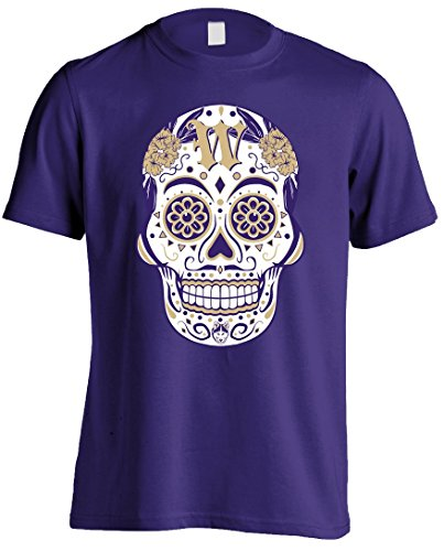 America's Finest Apparel Washington Sugar Skull shirt - Men's (Washington State University Clothing)