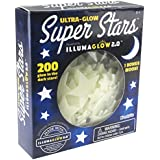 Kangaroo's Ultra Glow in the Dark Stars; 200 Count w/ Bonus Moon