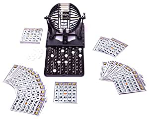 Deluxe Bingo Set with 60 Cards, 96 Bingo Balls - Limited Edition