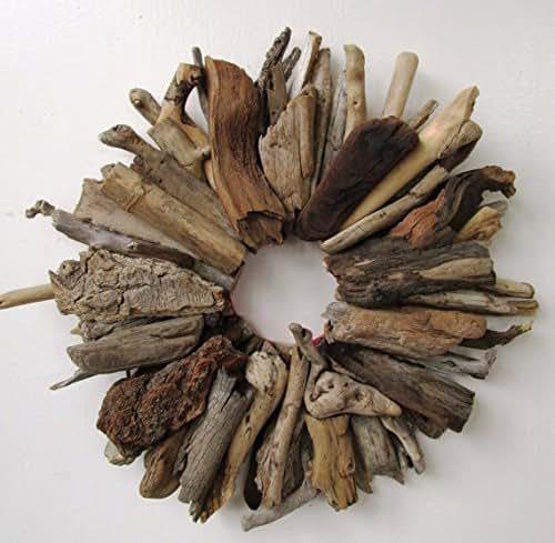Amazon.com: Small Driftwood Wreath, Rustic Home Decor