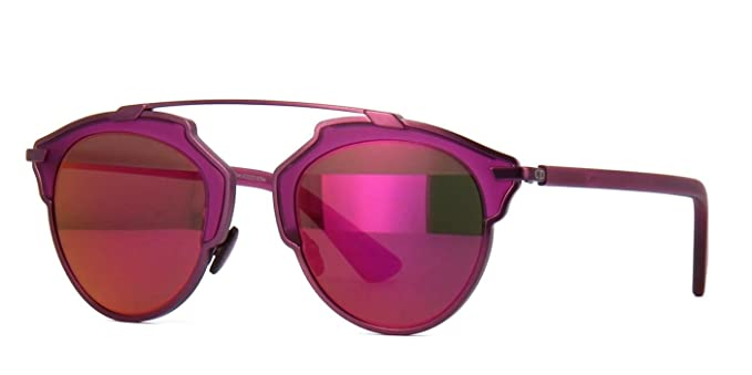 2e25d83b239 Image Unavailable. Image not available for. Color  New Christian Dior SO  REAL RMT LZ Matte Violet Violet Flash Sunglasses