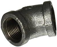LDR 311 E45-34 Galvanized 45 Degree Elbow, 3/4-Inch