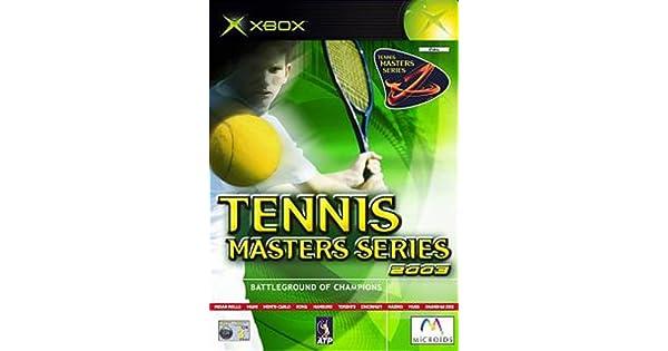 Tennis Masters Series 2003 (Xbox) [Importación Inglesa]: Amazon.es: Videojuegos