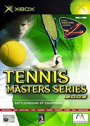Tennis Masters Series 2003 (Xbox) [Importación Inglesa ...