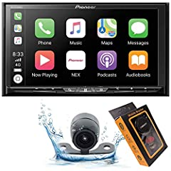 "Universal double din DVD/CD/am/FM/MP3/WMA/a AC/FLAC/NEX receiver with 7"" motorized display, Built-in Bluetooth, Siri eyes free, -ready, HD radio, Spotify, and app radio one (avhx5800bhs) by Pioneer. The avh-4200nex DVD receiver incorporates P..."