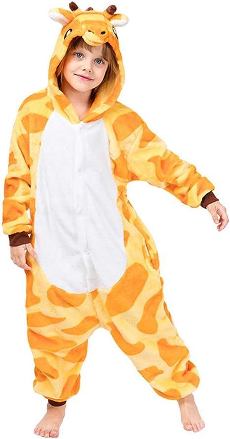 Vaeiner Disfraz de Animal para niños, Jirafa para niños, Pijama de ...