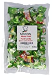 hard candies fruit flavored - Soeos Mixed Fruit Hard Candy (Guava, Apple, Grapes, Orange) (1LB)