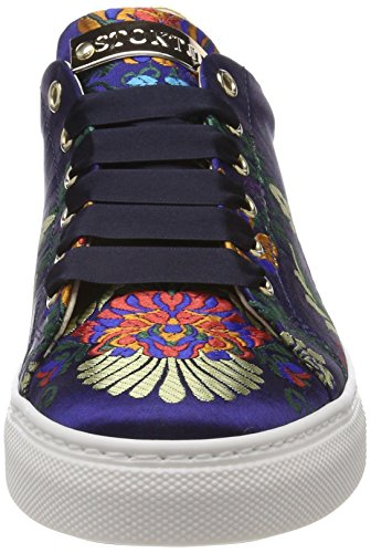 Multicolore Red Femme Basses Stokton gold Sneaker blu Sneakers UxqZcwIHO