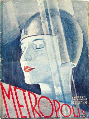 Amazon.com: Metropolis Póster alemán e 27 x 40 Brigitte Helm ...
