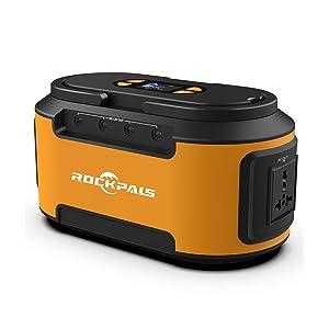 Rockpals S420 222Wh AC出力200W ポータブル電源