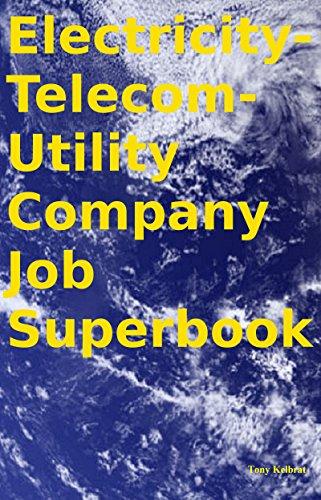 Buy cheap electricity telecom utility company job superbook