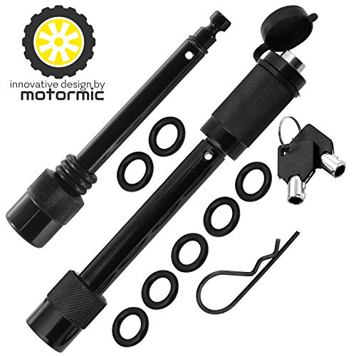 Motormic Trailer Hitch Lock Pin Set (Old Model Black)