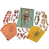 Magnetic Body Puzzle For Kid's to Learn the Human Anatomy