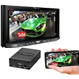 Pioneer AVH-4200NEX 7 DVD Receiver with Apple Carplay & Android Auto w/SPA400 Smartphone Mirroring Adapter and SOTS lanyard