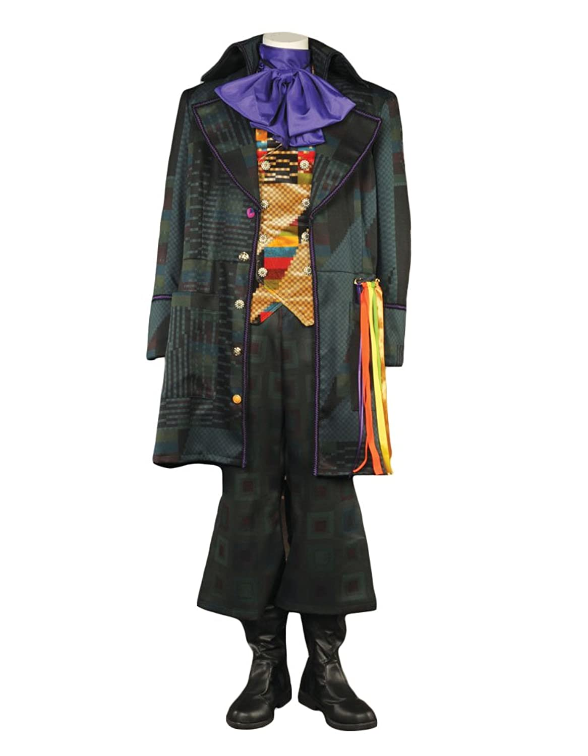 Men's Tim Burton Alice Through the Looking Glass Mad Hatter Theatrical Costume - DeluxeAdultCostumes.com